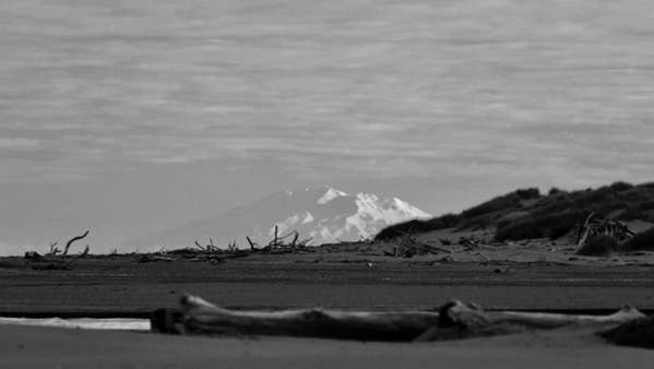 Mt Ruapehu, with filters applied.